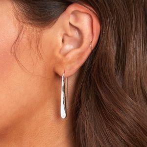 Jenny Bird silver Sila earrings
